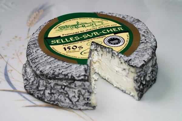 Selles-sur-Cher fromage de chèvre AOP AOC